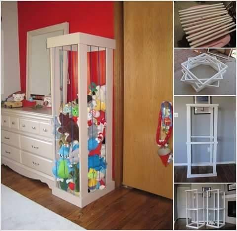 Il vous faudra  Des planches en bois De la peinture De la corde - peindre un lit en bois