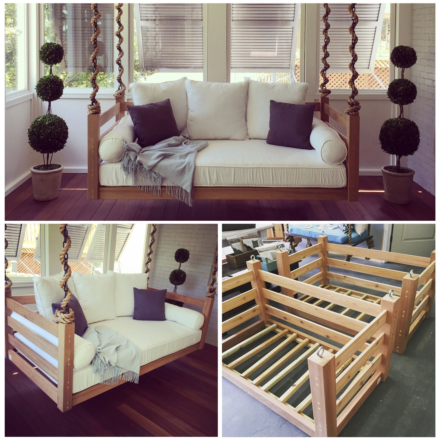 Lowcountry Swing Beds Bedswings Porch Beds Barn