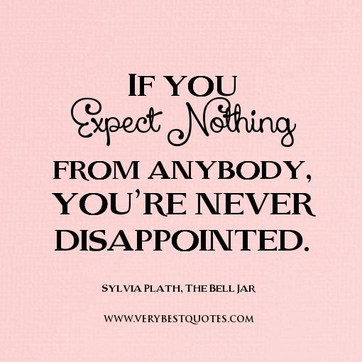 Charmant Expectation Quotes, Expect Nothing Quotes