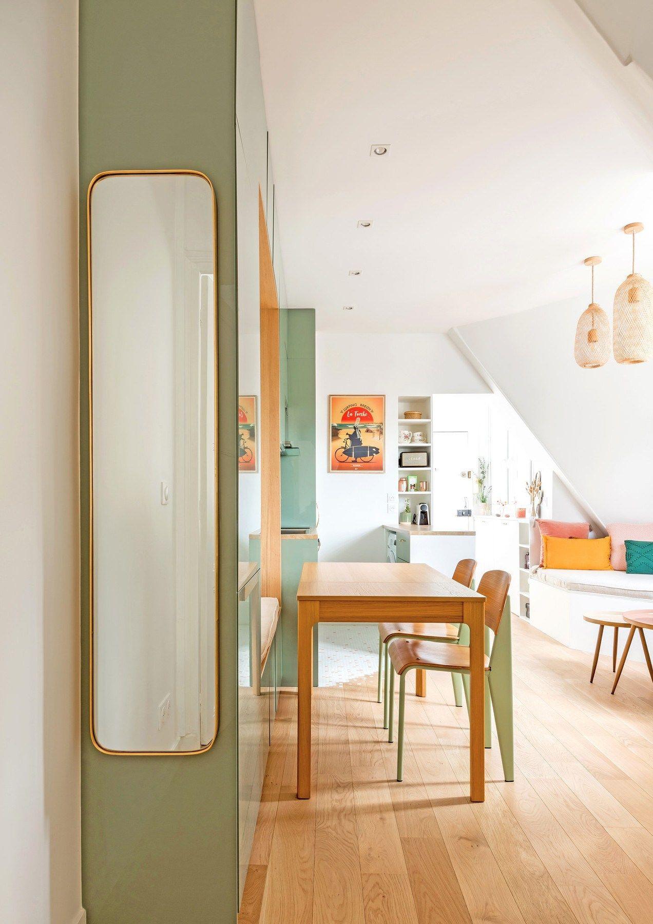 Cet Appartement De 30m2 A Paris Est Plein De Couleurs En 2020