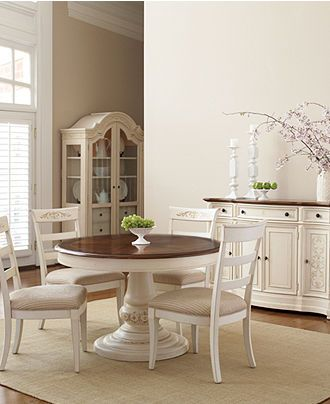 round pedestal dining table - coventry dining room furniture