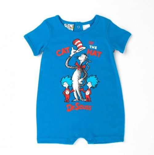 01a3efb96 Cat in the Hat Romper - Dr. Seuss Boutique: Apparel - Events ...