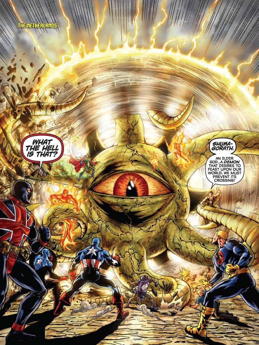 Pin by Armando Leyva on MARVEL DEMONS-2   Cosmic comics, Marvel comics art, Mundo marvel