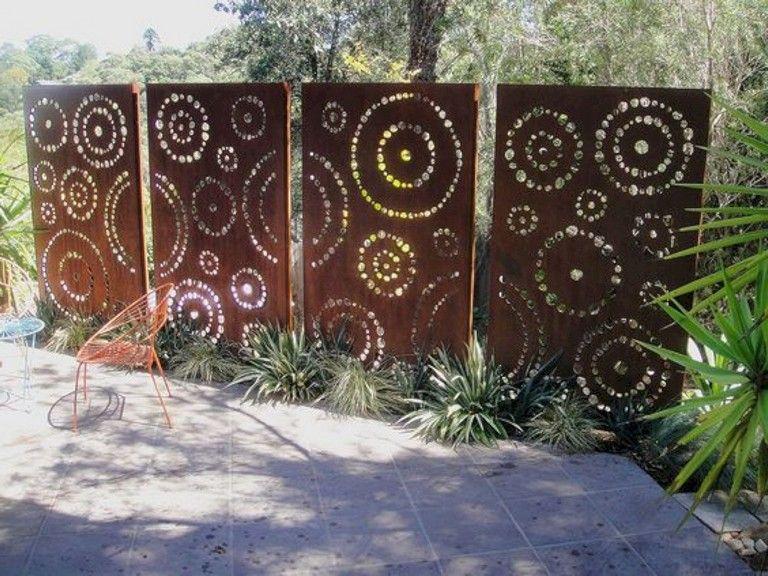 40 Lovely Diy Privacy Fence Ideas Garden Privacy Screen Privacy Fence Designs Garden Privacy