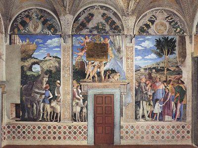 mantegna palazzo ducale mantova sala degli sposi