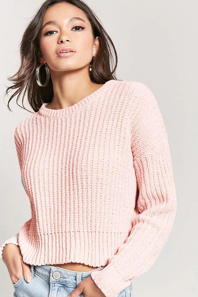 09bc38c2f Product Name Metallic Chenille Knit Sweater