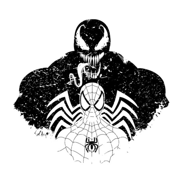 Symbiote Shadow Png 630 630 Spiderman Tattoo Shadow Venom Comics