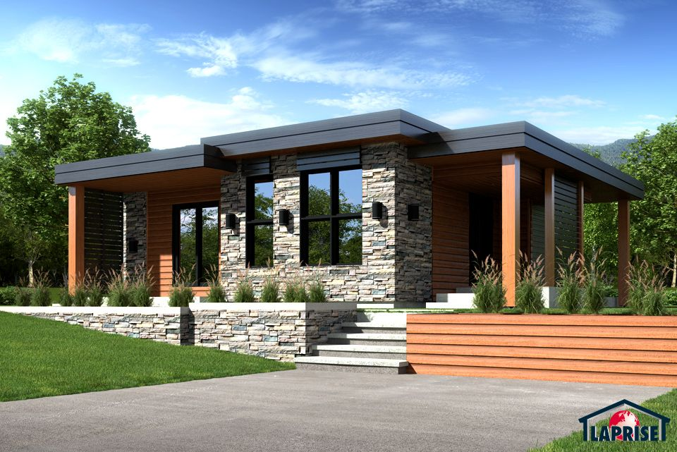 laprise kit homes designer zen contemporary lap0506 maison rh pinterest com