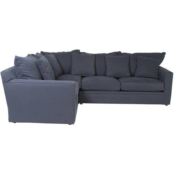pre owned room board sectional sofa 2 450 liked on polyvore rh pinterest com