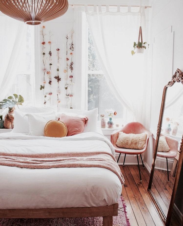 33 beautiful bohemian bedroom decor to inspire you bohemian rh pinterest com