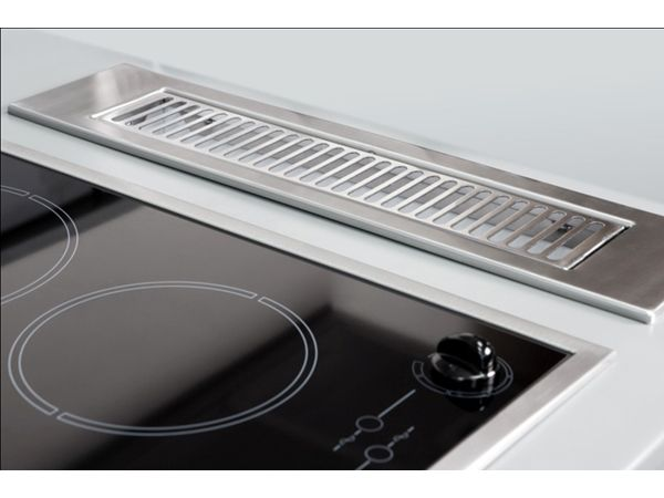 unobtrusive kitchen ventilation systems by parmco downdraft rh pinterest com