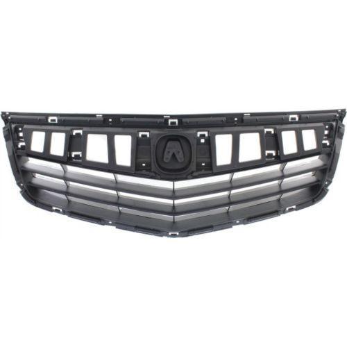 2011-2014 Acura TSX Grille, Black, Sedan/wagon