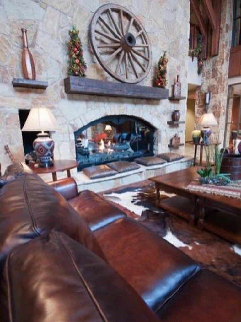 20 amazing western living room decors livingroomideas rh pinterest com
