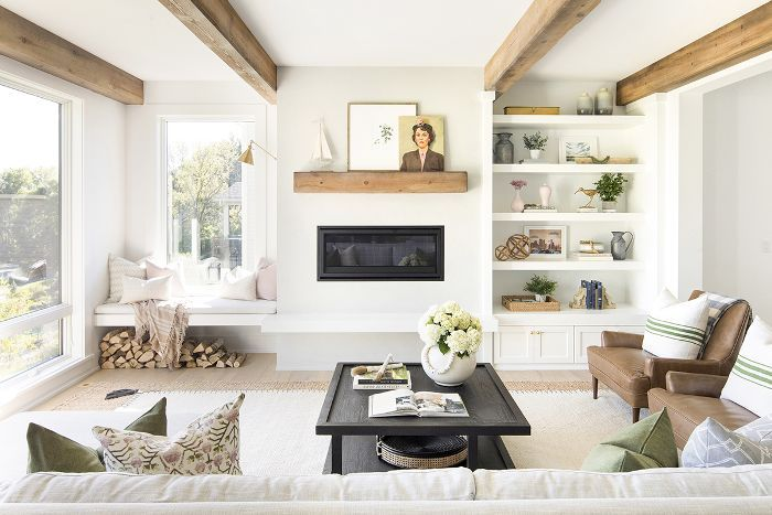 This chic 5941 square foot home in minnesota is making our - Interior design classes minneapolis ...