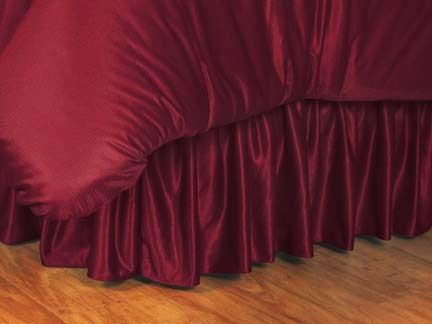 Virginia Tech Hokies Coordinating Full Bedskirt for the Locker Room or Sidelines Collection by Kentex:… #Sport #Football #Rugby #IceHockey