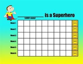 Activities for Kids: Superhero Board