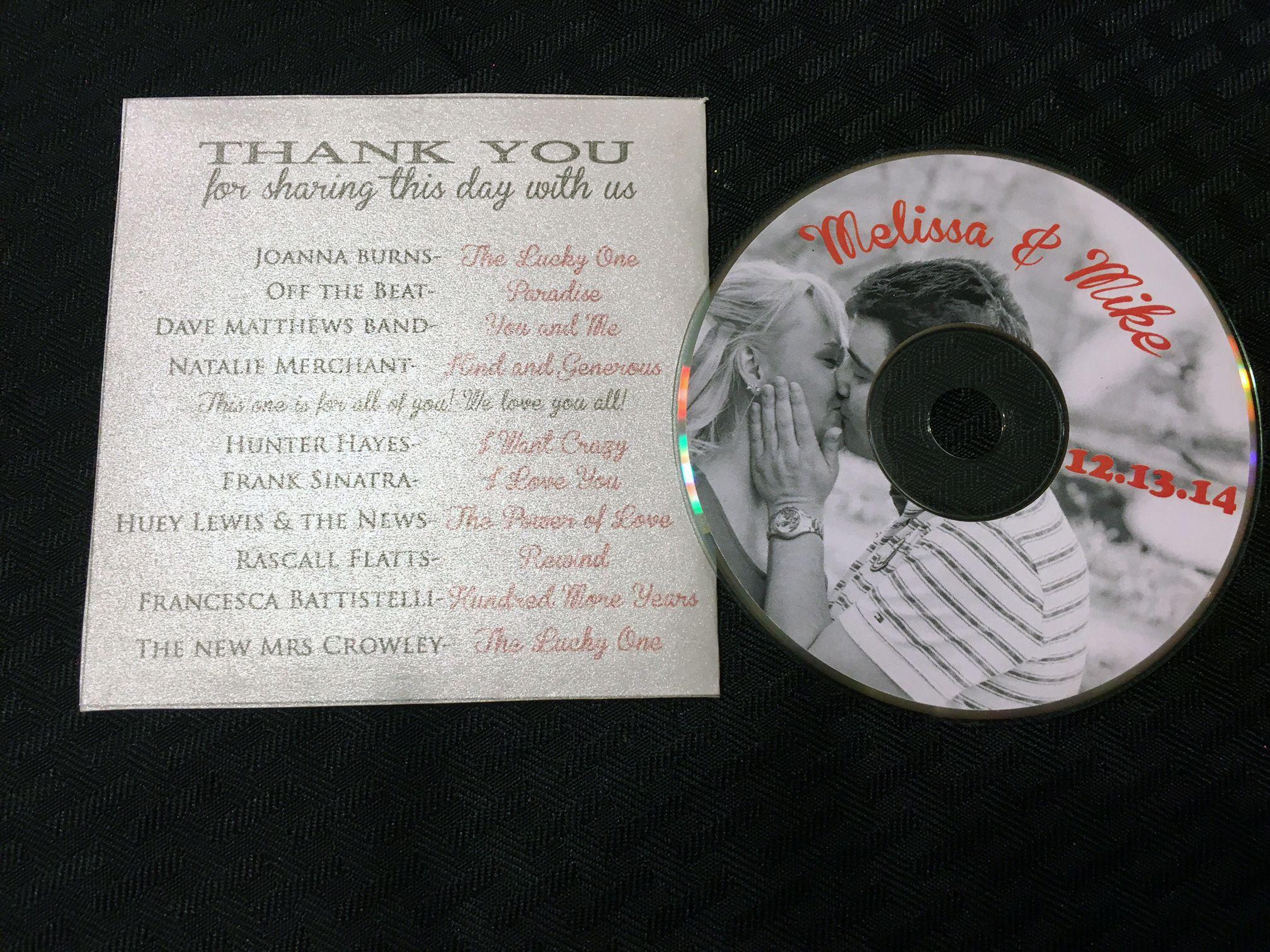 DIY wedding soundtrack cd favor | DIY Wedding | Pinterest | Craft ...