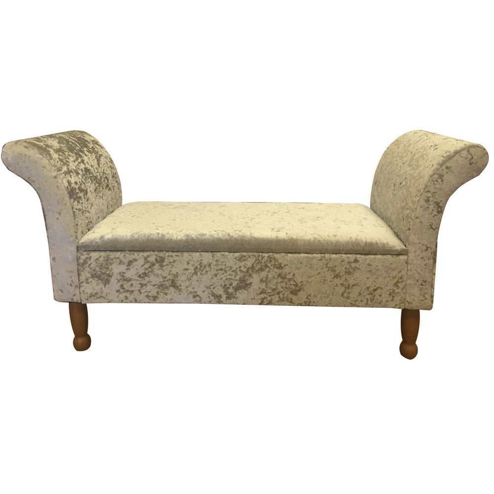 Chaise Lounge Style Bed End StorageSofa Window