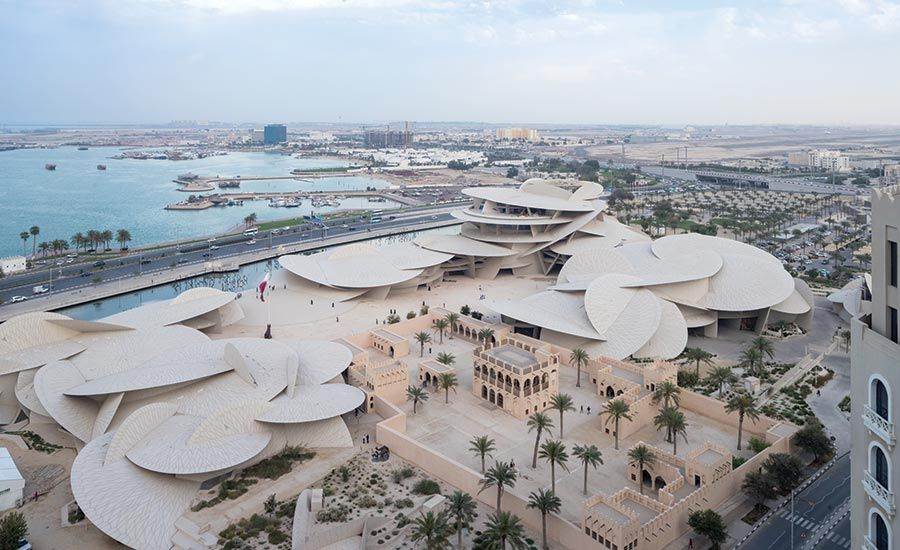 National Museum of Qatar by Ateliers Jean Nouvel   Jean nouvel, National museum, Qatar