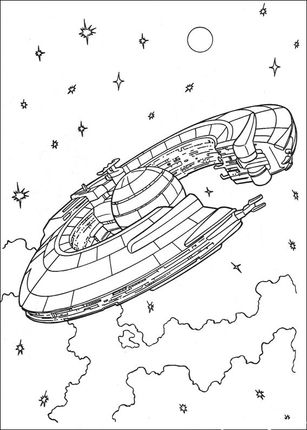 Star Trek Coloring Pages | Star Wars űrhajók lent-fent | Wood ...