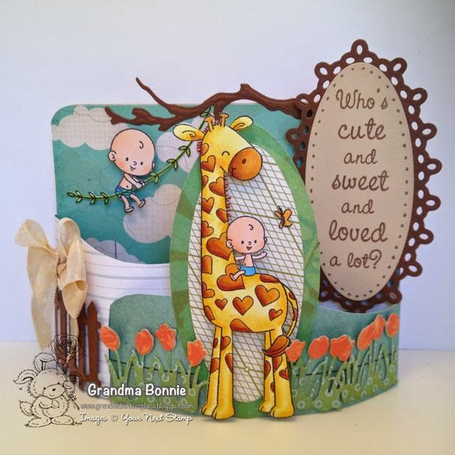 Your Next Stamp card by Bonnie featuring Sweet Baby stamp set