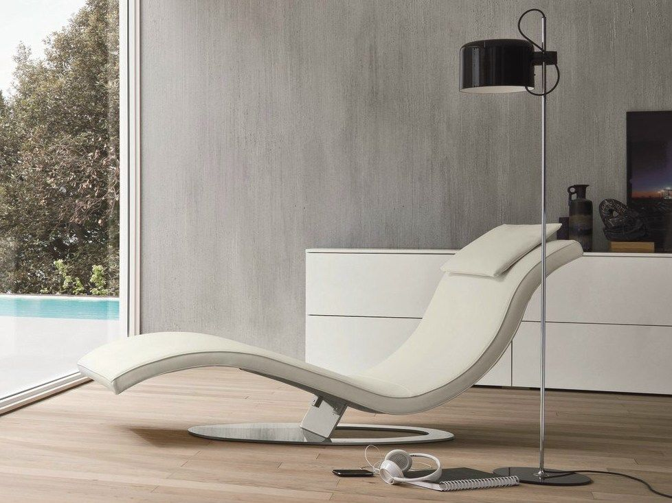 Upholstered leather lounge chair ART by Dall\'Agnese | design Imago ...
