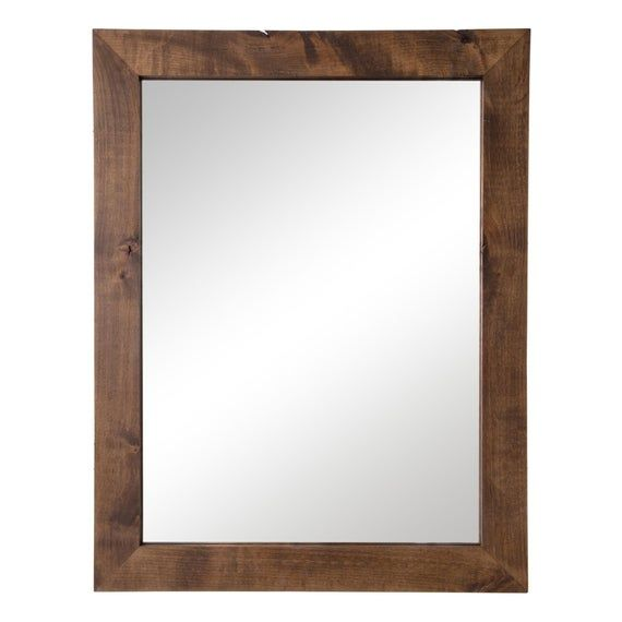 Photo of Farmhouse Bathroom Vanity Mirror: 24″ x 31″