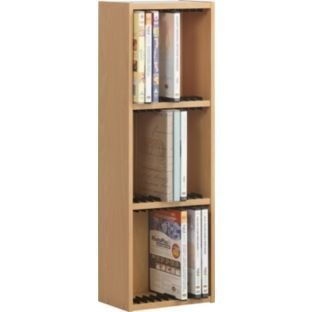Buy 33 DVD Media Storage Unit   Beech Effect At Argos.co.uk   Your Online  Shop For CD, Video And DVD Storage.