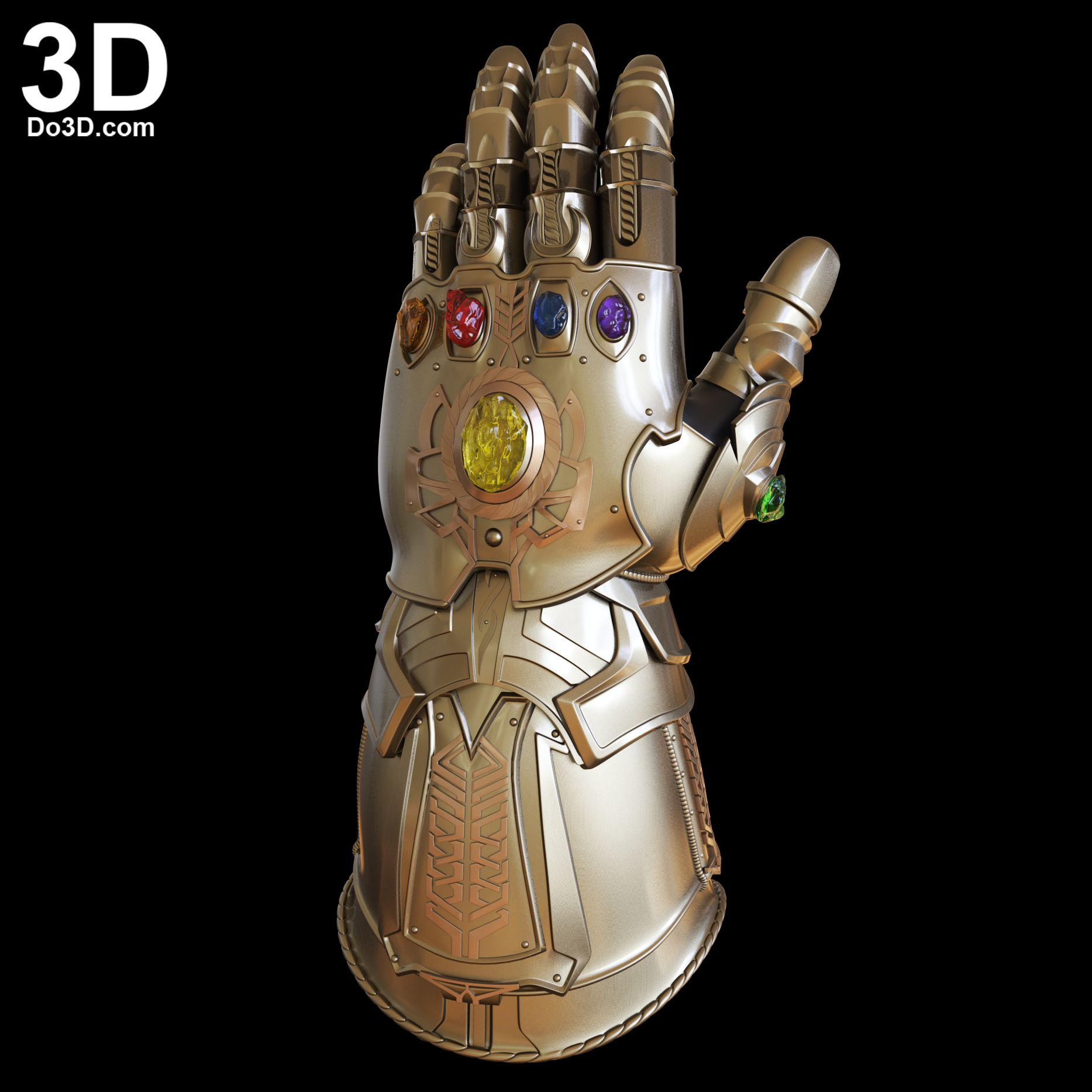 3d Printable Model Thanos Gauntlet Forearm Glove D23 Avengers Infinity War Version Print File Format 3d Printable Models Avengers Infinity War Gloves