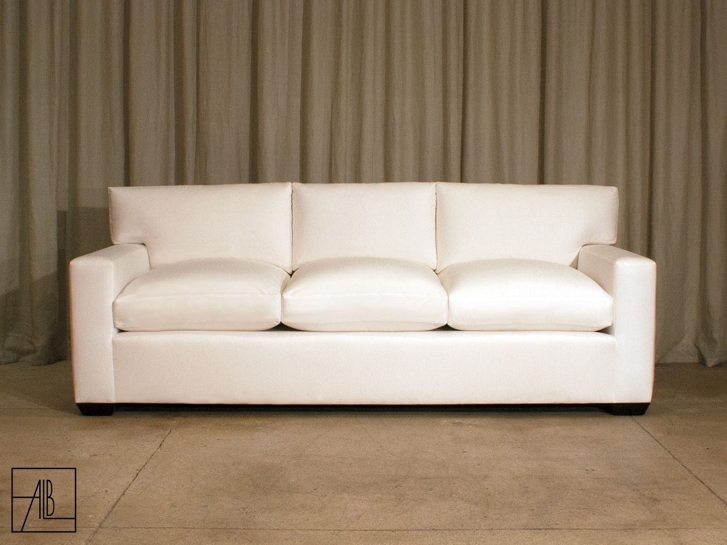 Jean Michel Frank Loose Pillow Back Sofa Anthony Lawrence