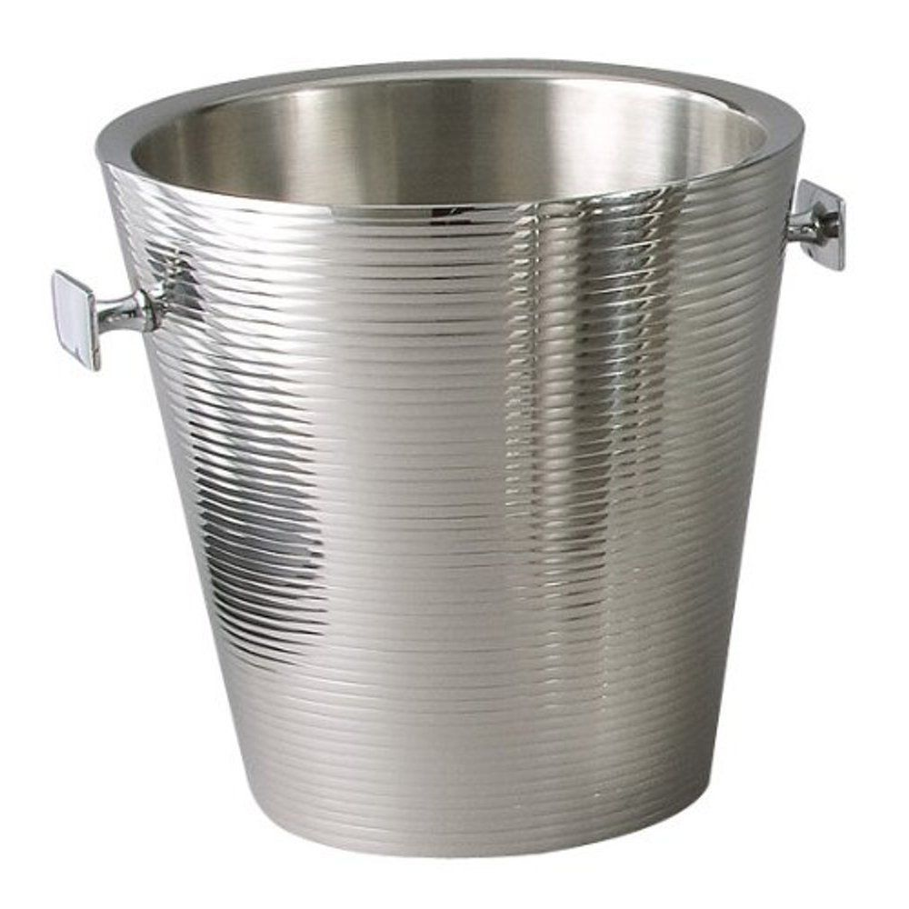 Elegance Heim Concept Linear Champagne Bucket (Silver) (Stainless ...