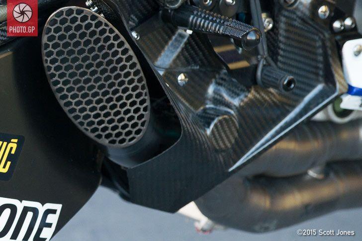 Yamaha Yzr M1 Exhaust Design Photo Gp Yamaha Ducati Desmosedici Rr Sport Bikes