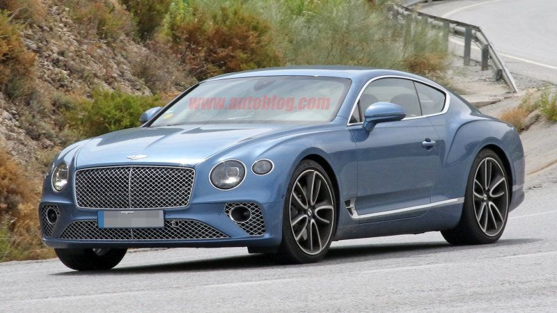 2020 bentley continental gt plug in hybrid spied undisguised about rh in pinterest com