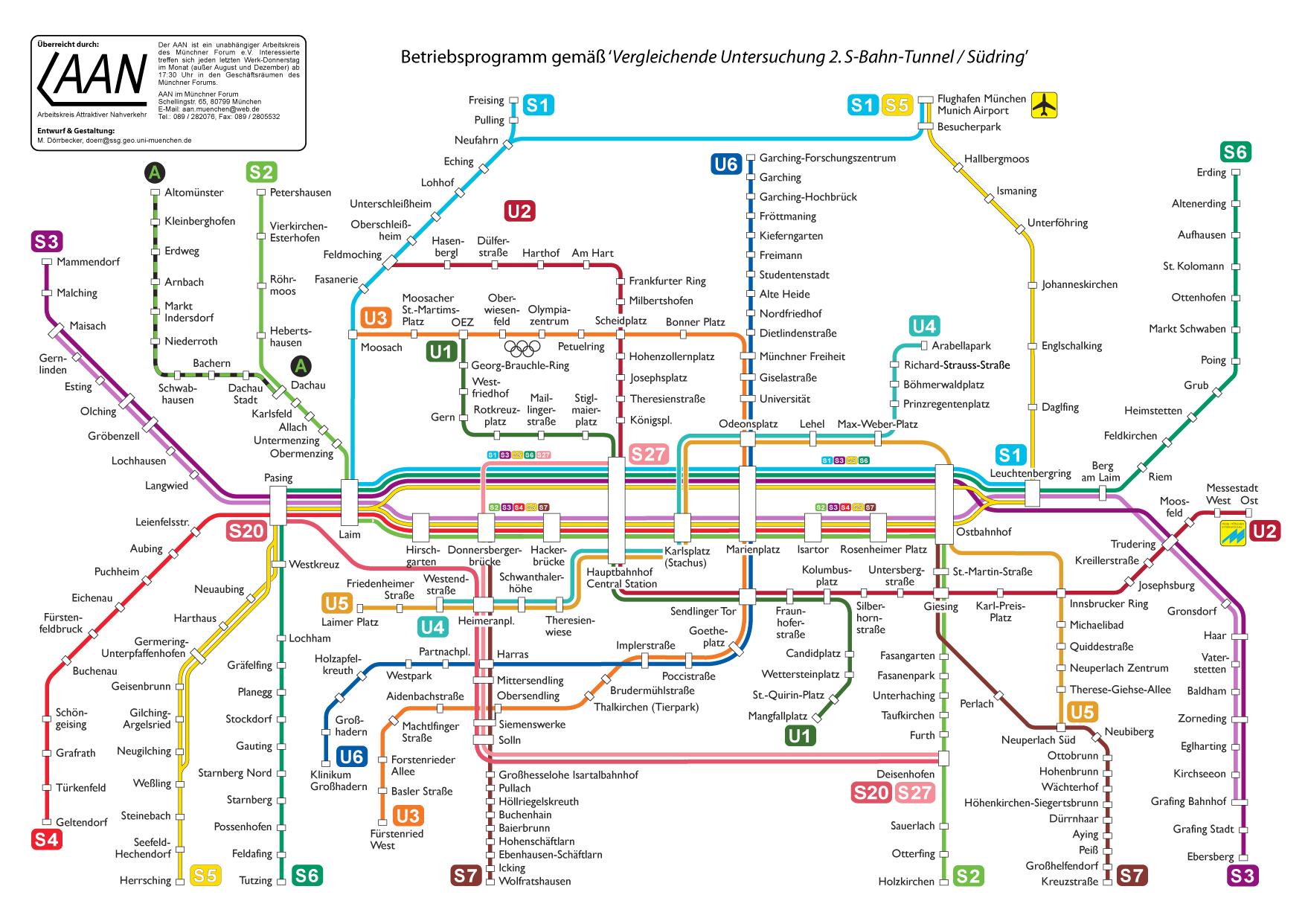 U Bahn München Pdf