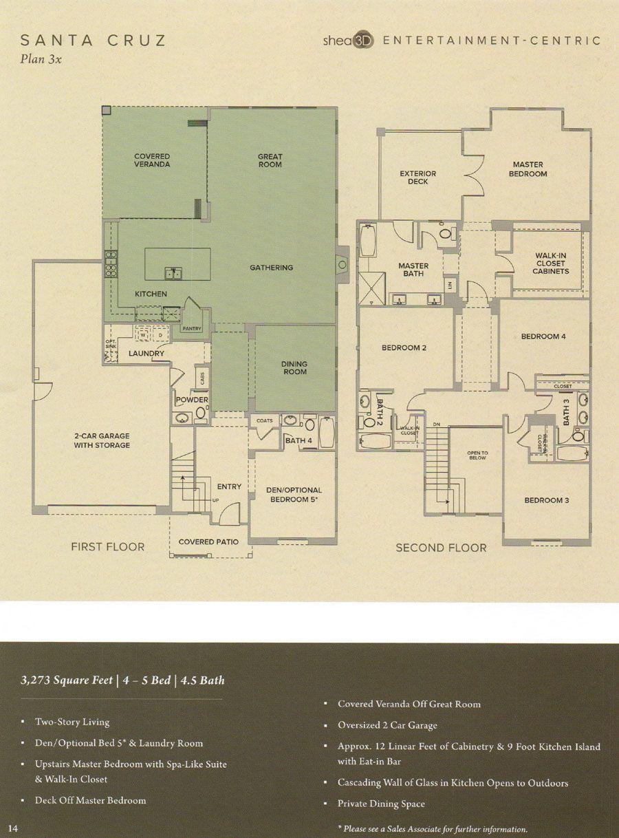 Floor Plan 3x at 1 Channel island