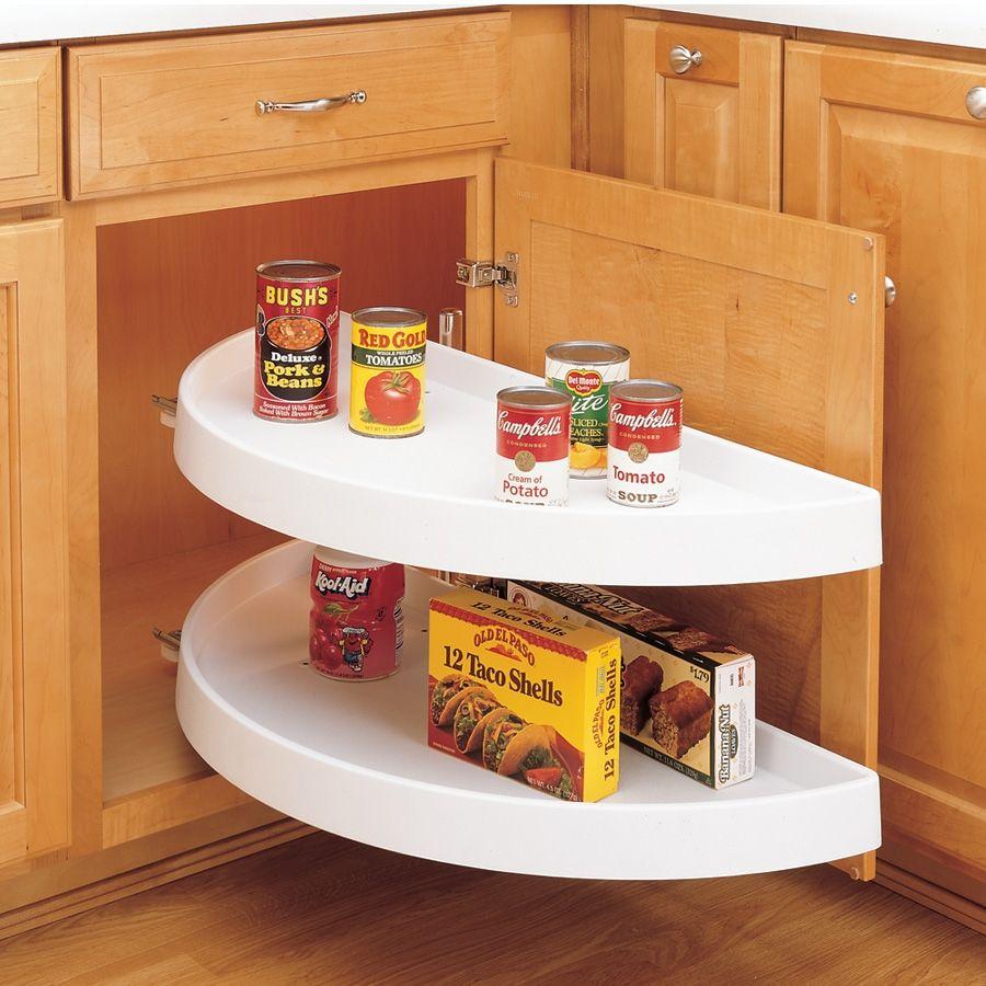 rev a shelf 6842 2 shelf pivot only half moon lazy susan 31 rh pinterest com