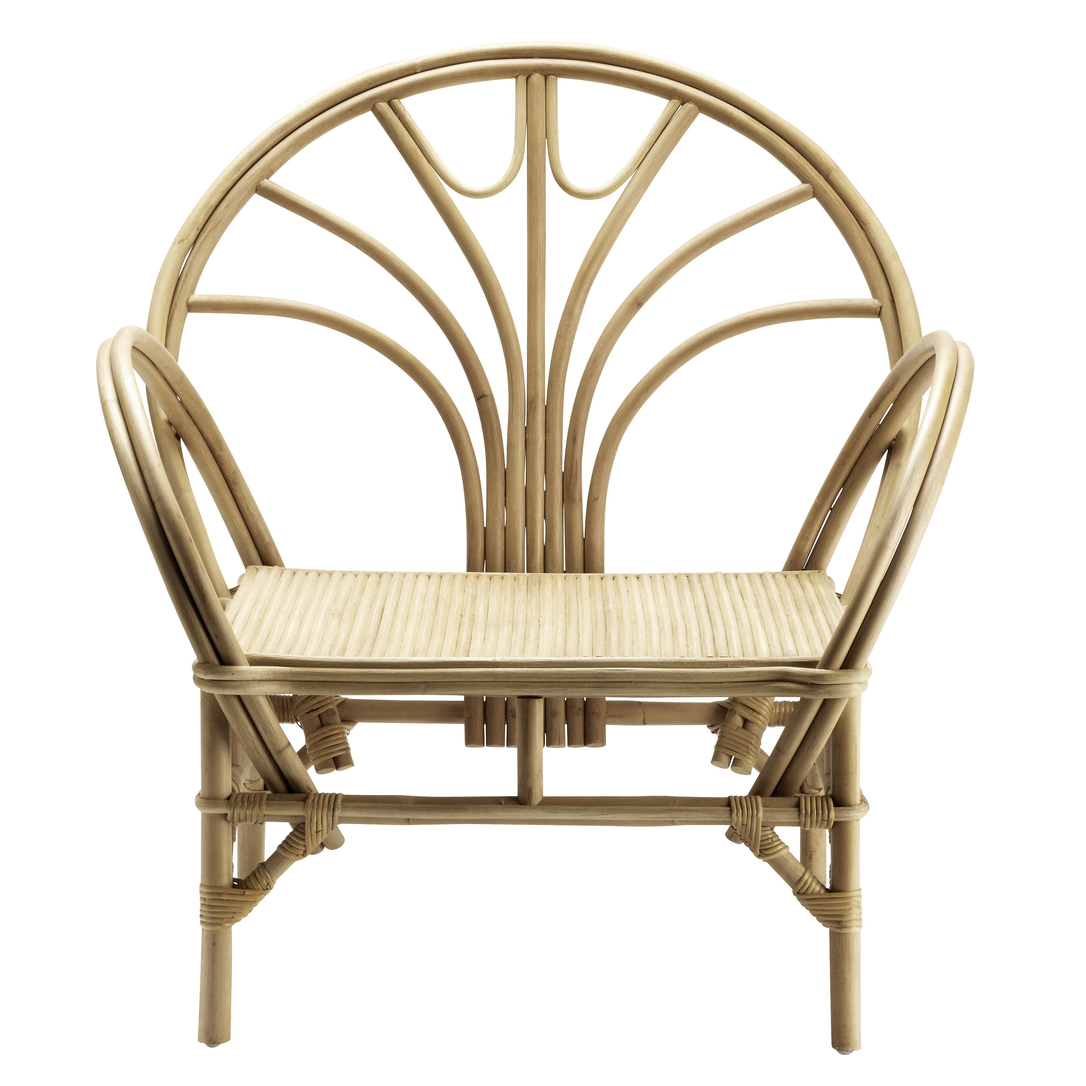Lounge Chair In Rattan With Wide Round Shapes That Creates A Decorative Look And Gives The Perfect Boheme Feel The Avec Images Fauteuil Rotin Chaise Fauteuil Chaise Rotin