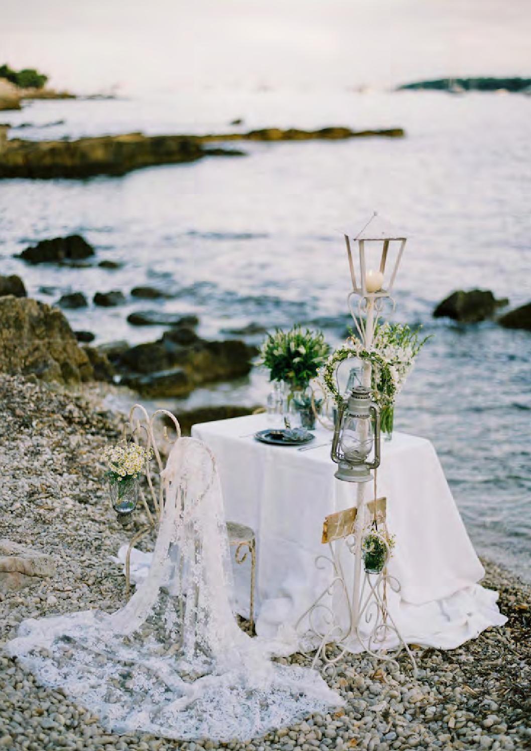 small beach wedding ceremony ideas%0A Magnolia Rouge Issue    Wedding Ceremony IdeasWedding