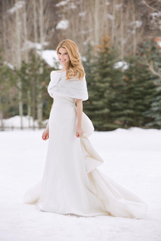 Inside Weddings Winter Wedding Dress Winter Wonderland Wedding Dress Winter Wedding Gowns [ 1500 x 1000 Pixel ]