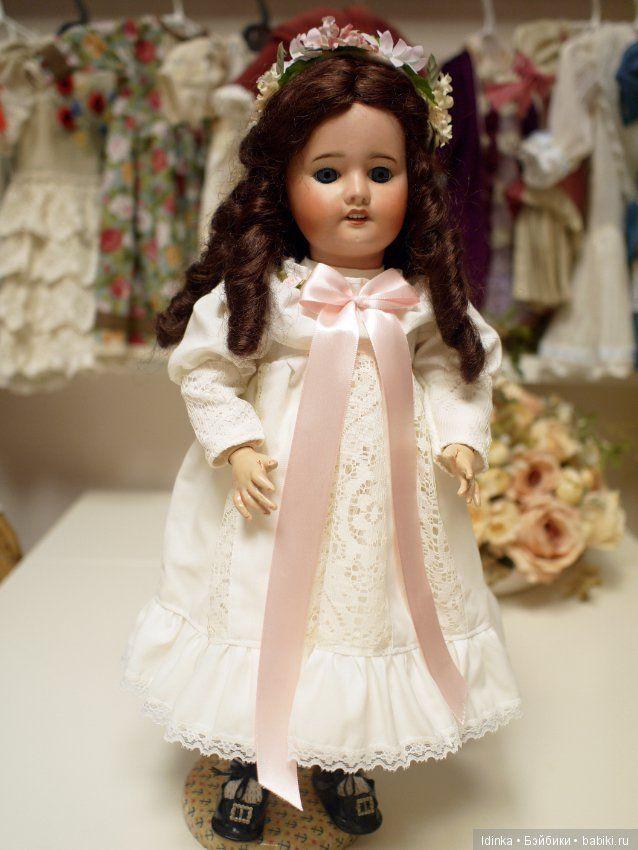 Французская куколка милая , домашняя / Антикварные куклы, реплики / Шопик. Продать купить куклу / Бэйбики. Куклы фото. Одежда для кукол