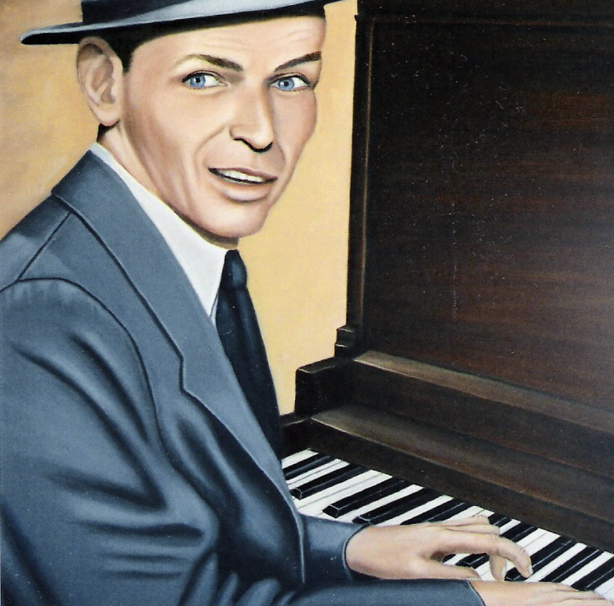 Frank Sinatra Celebrity Caricatures Frank Sinatra Male Movie Stars