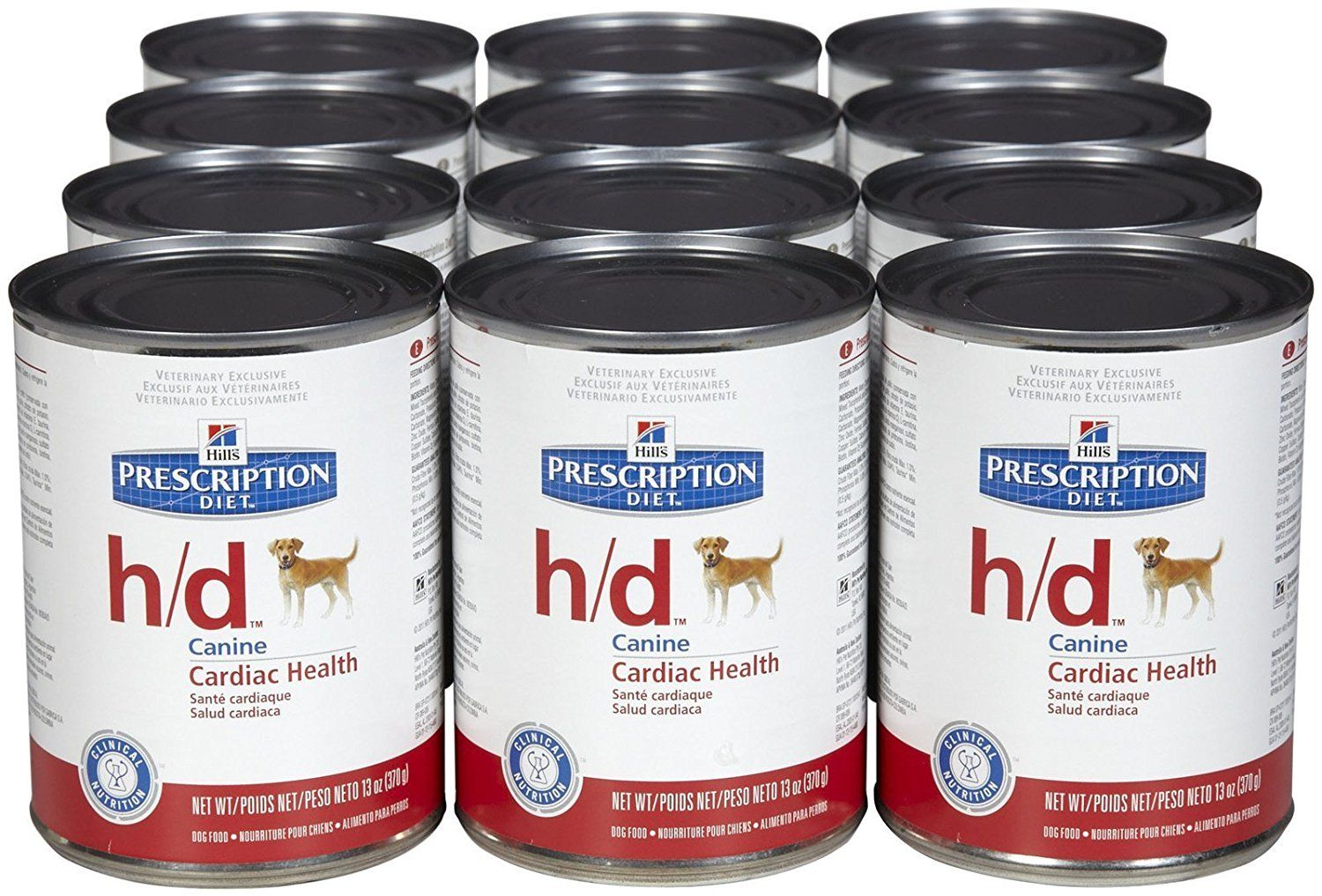 Hill S Prescription Diet H D Cardiac Health Dog Food 12 X 13oz Cans Click Image To Review More Details This Dog Food Recipes Canned Dog Food Canine Health