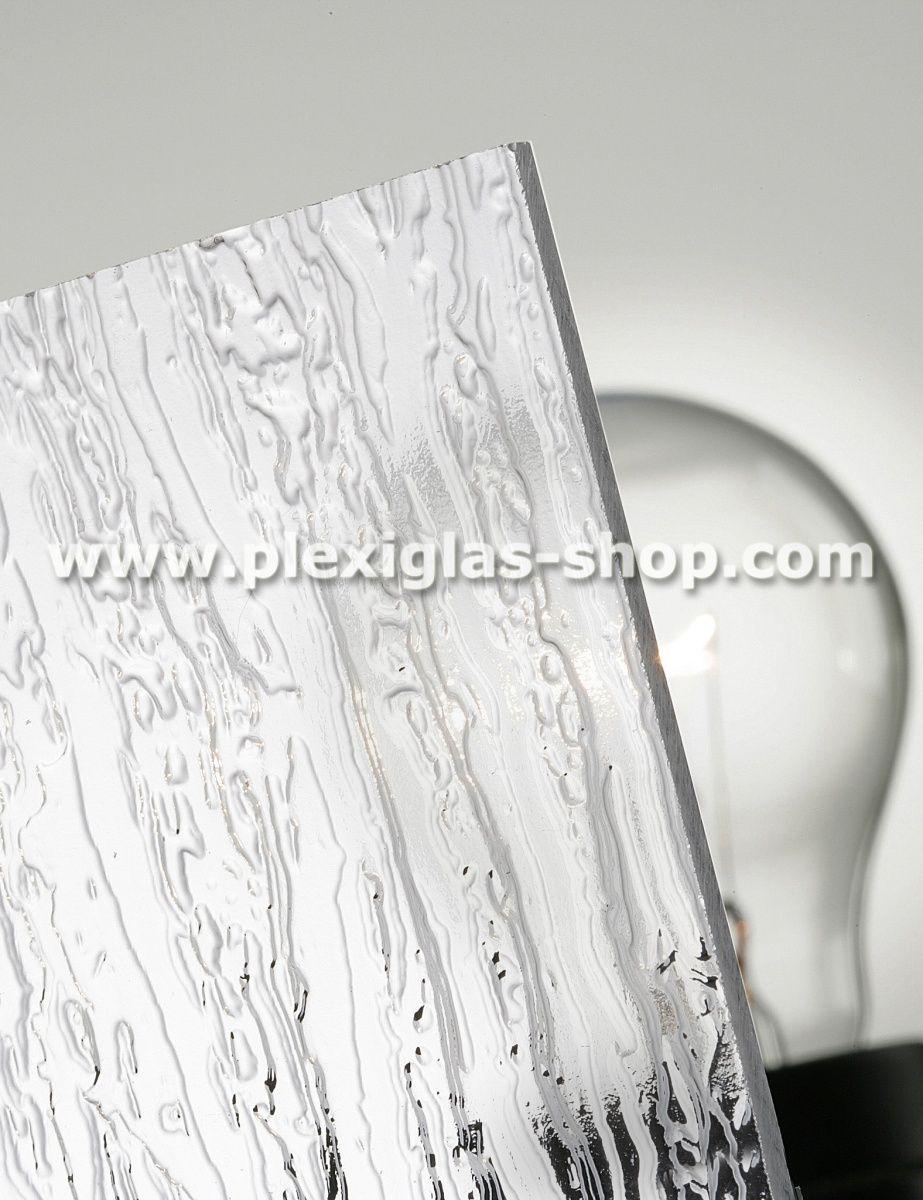 PLEXIGLAS® Textures, sheet, Clear 0A000 BO