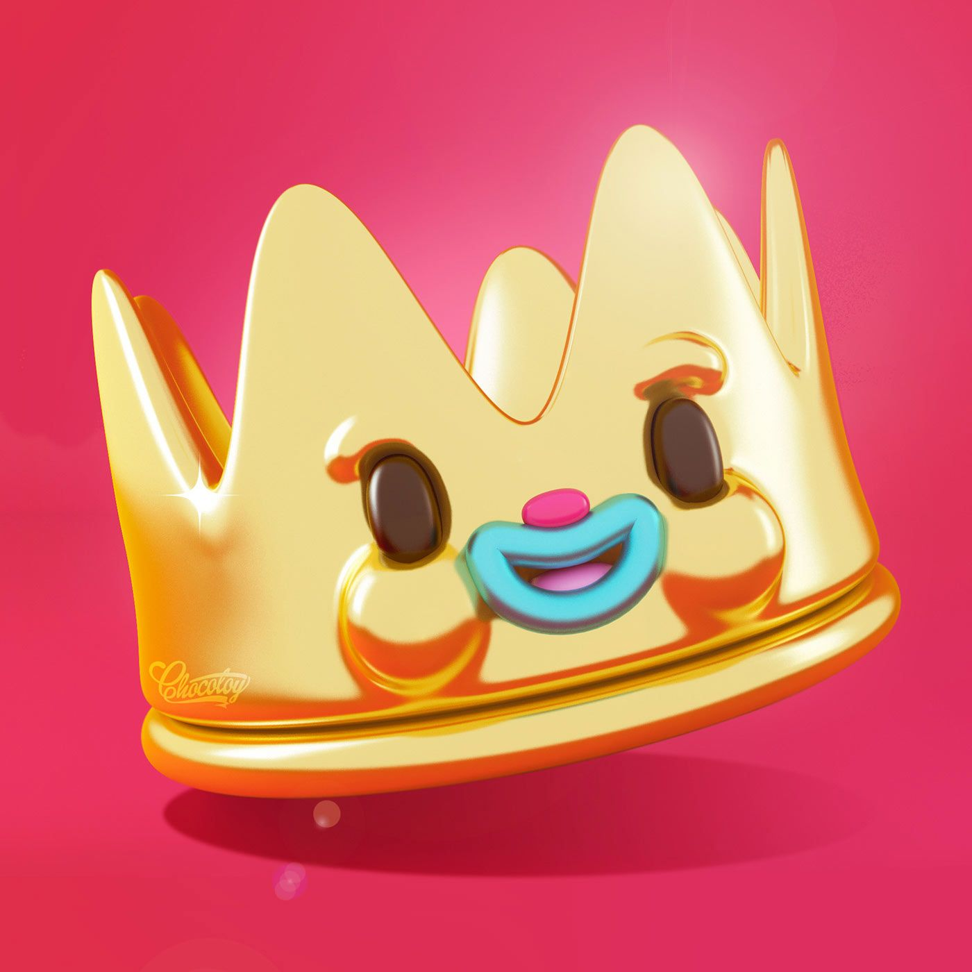Funny & Amazing 3D Character Design by ChocoToy Cute   HeyDesign Graphic Design & Typography Inspiration