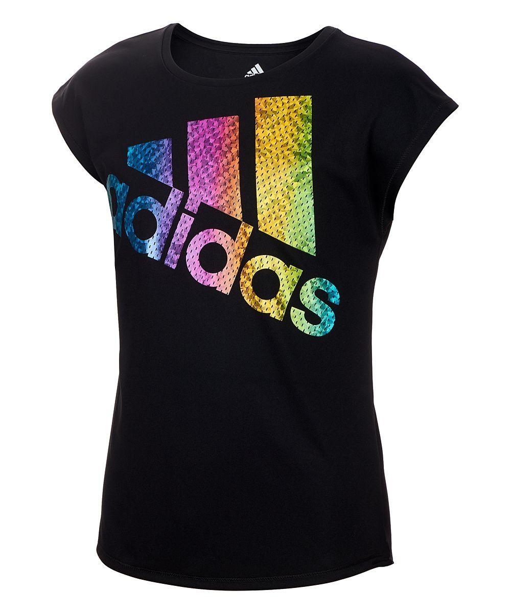 Girls 4 6x adidas Logo Graphic Tee | Athletic tank tops