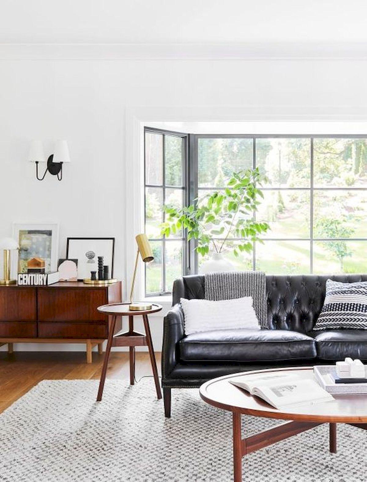 70 stunning grey white black living room decor ideas and remodel rh pinterest com