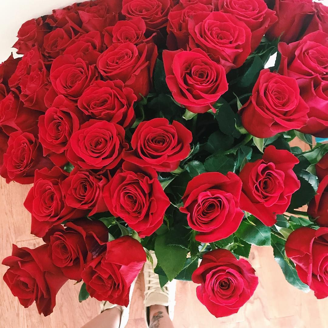 50 roses mono bouquets for only $150.00 at bloomroomnyc.com 💋 TEXT ...