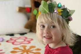kids craft projects flower crown natural - Google Search