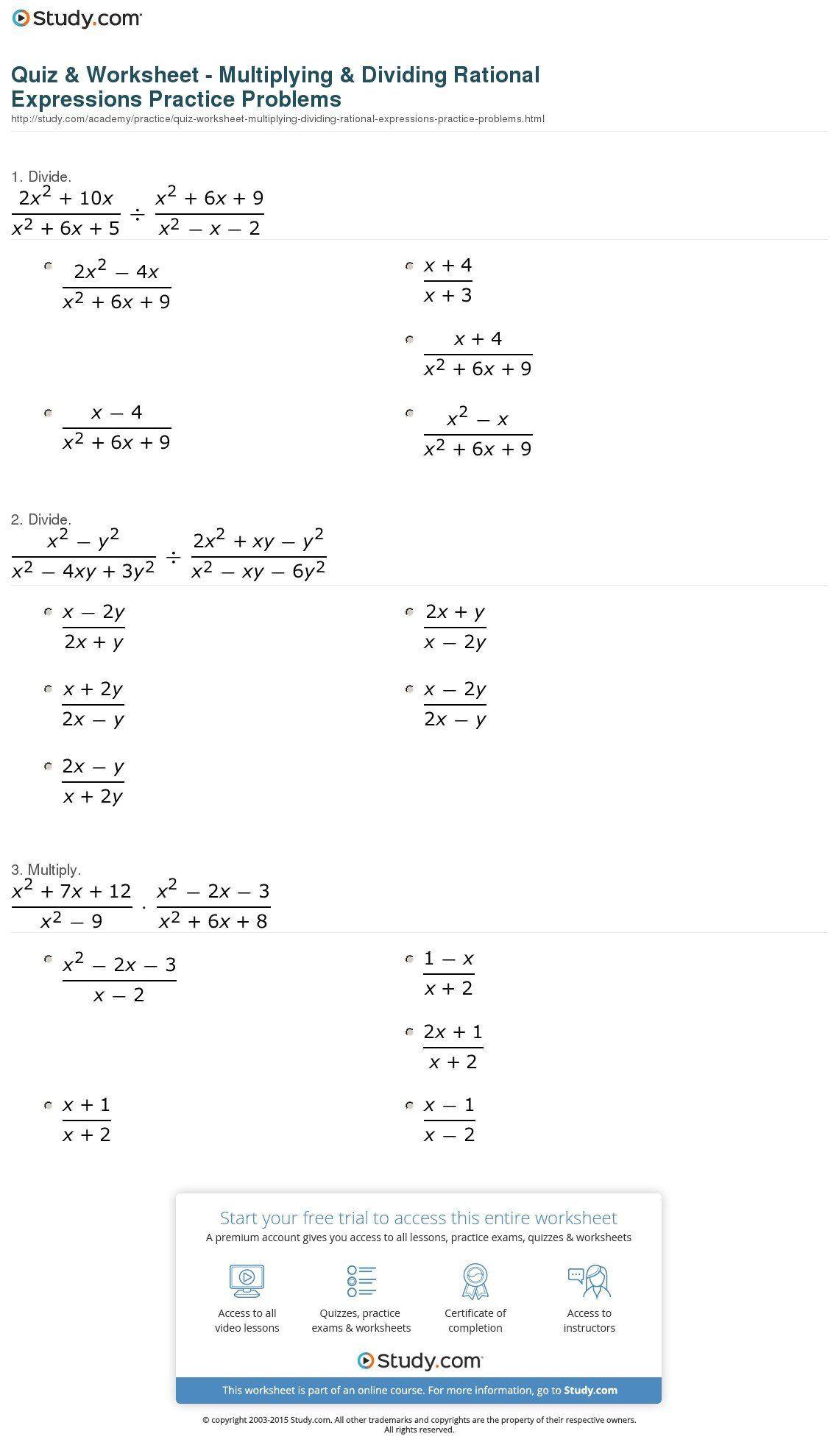Simplifying Radicals Practice Worksheet Simplify Radical