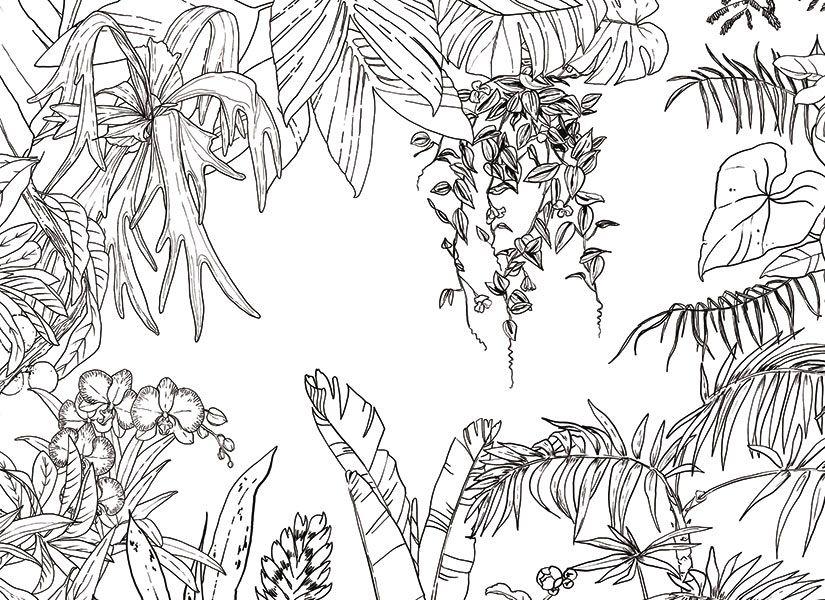 Papier Peint Original Décoration Murale En édition Limitée